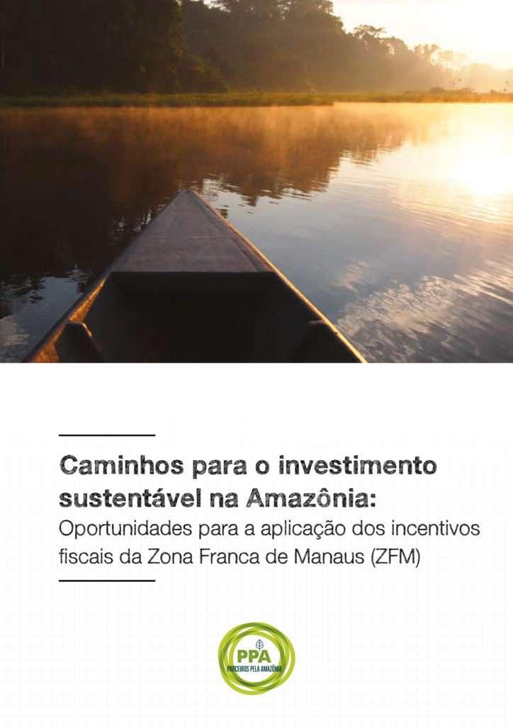 caminhos para o desenvolvimento sustentável na Amazônia